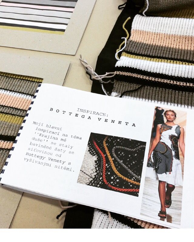 Inspiration By Bottega Veneta. University Life. School. Technical University Of Liberec. Textile Technology And Design.