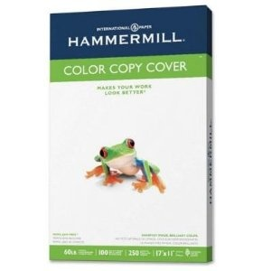 Hammermill Color Copy Cover Stock, 60 lb, 98 Bright, 11 x 17, White - I use this for all my comics drawing. Both Missile Mouse GN's were drawn on this.