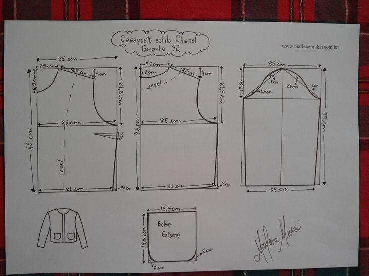 Hoy vamos aprender afondo como hacer una chaqueta chanel paso a paso, con patrones incluidos.