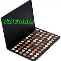 [ Retail- 10002 ] Retail + Nuevo 72 color sombra de ojos Maquillaje Paleta Set + envío gratis