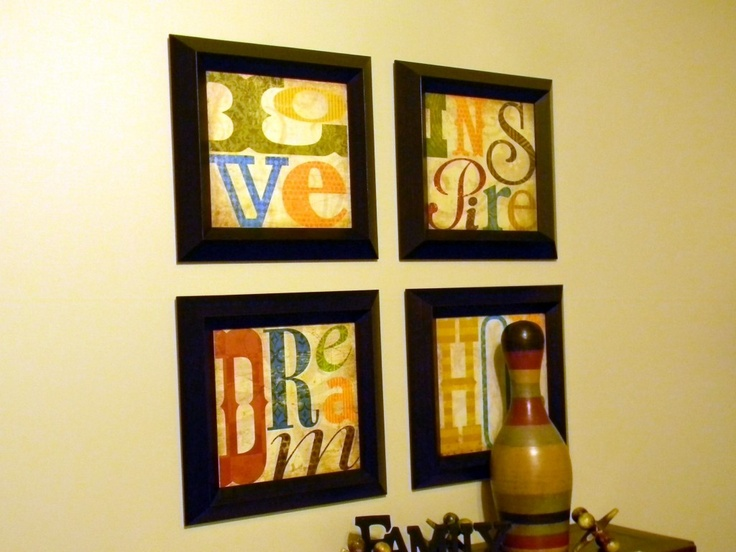 247 best DIY Wall Art images on Pinterest | Diy wall decor, Diy wall ...