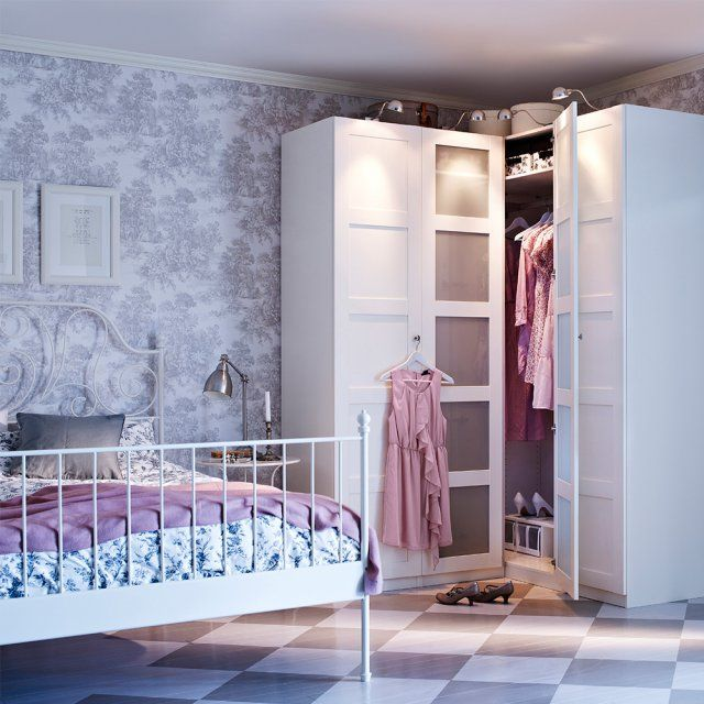 les 25 meilleures id es concernant armoire d angle ikea. Black Bedroom Furniture Sets. Home Design Ideas