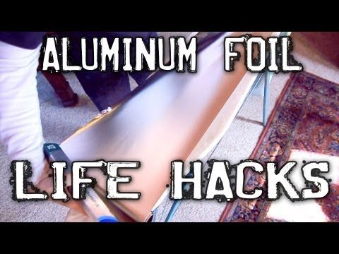 Aluminum foil trick for much faster ironing