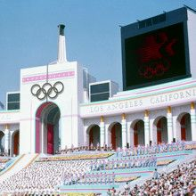 How many gold medals did USSR win at 1984 Olympic Games in Los Angeles? (USA got 83) 0.