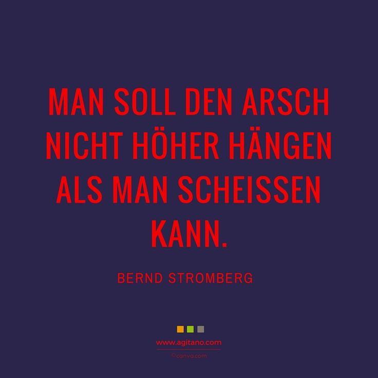 #stromberg #business #management #sprüche #agitano