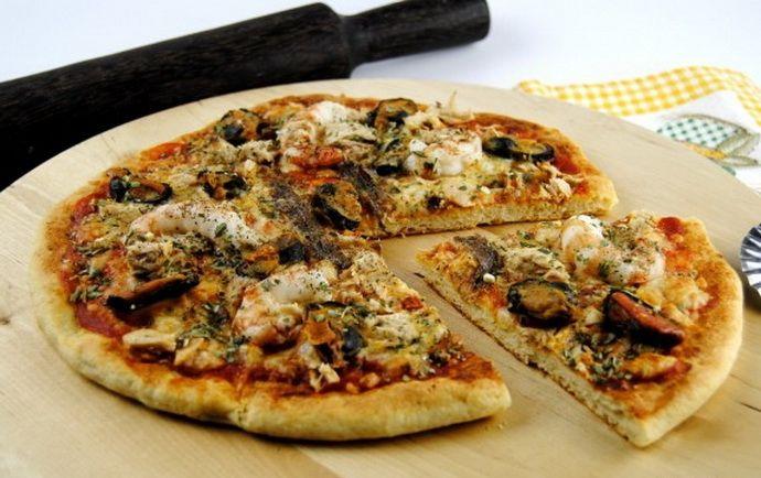 Túró alapú fitnesz pizza - (nemcsak) diétázóknak!