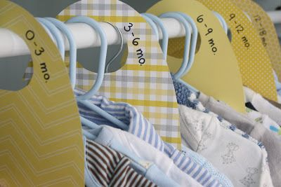 Separating baby clothes is a great idea since they grow so fast. I strongly recommend this.