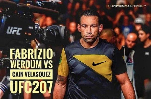 Some of the latest News from MMA Weekly Fabricio Werdum Claims Sponsorship Protest Cost Him His UFC Broadcasting Job