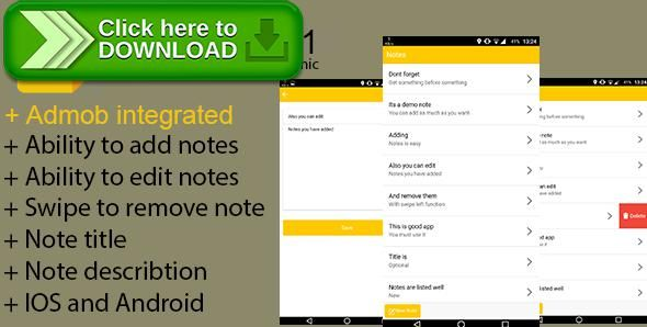 [ThemeForest]Free nulled download ioNotes v.1.1 - Full Ionic/PhoneGap/Cordova (IOS - Android) App from http://zippyfile.download/f.php?id=46539 Tags: ecommerce, android note app, ionic notes app, ios note app, mobile note app, native web app, note application, notes app, notes native web, notes with angular