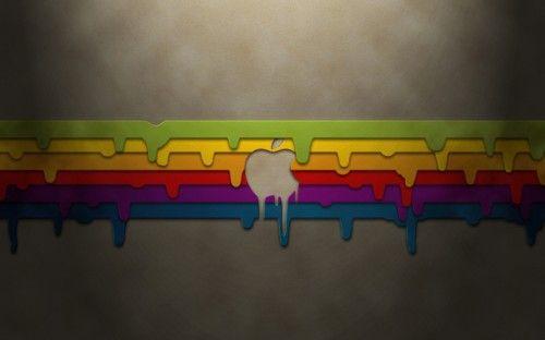 Apple Wallpaper - Mac Colors