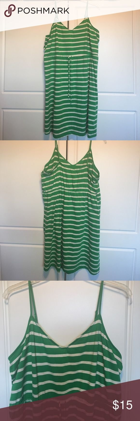PLUS Old Navy Cami Dress Summer dress!  Gently pre-owned, good condition.  60% cotton, 40% polyester. Old Navy Dresses
