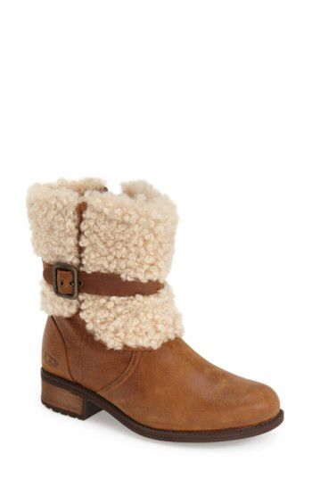 UGG� UGG� Blayre II Shearling Cuff Bootie (Women) available at #Nordstrom