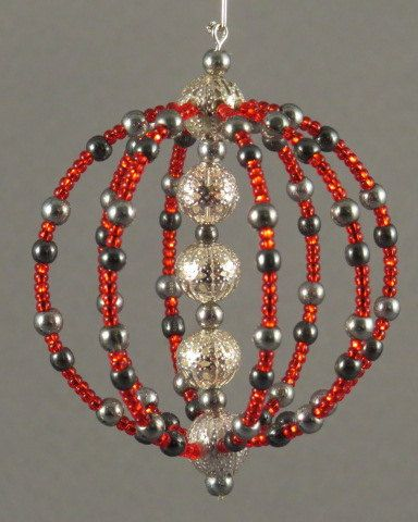 Hand made, all glass beads, and jewelry findings. Item is extremely durable and strong