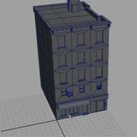 How to Model a Low Poly Building for Games