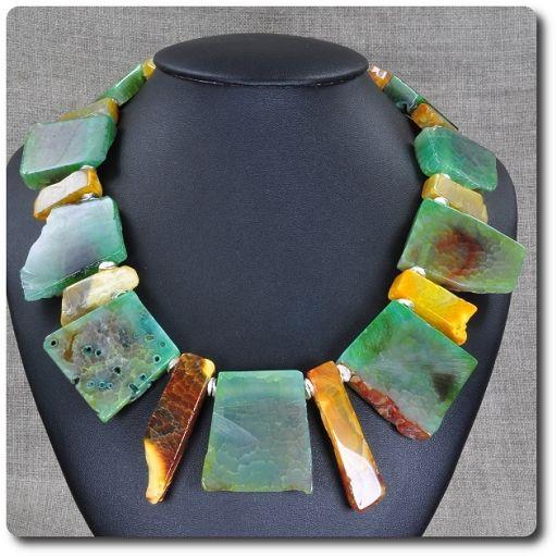 Naszyjnik agat - Biżuteria - sklep internetowy Galeria Lagos