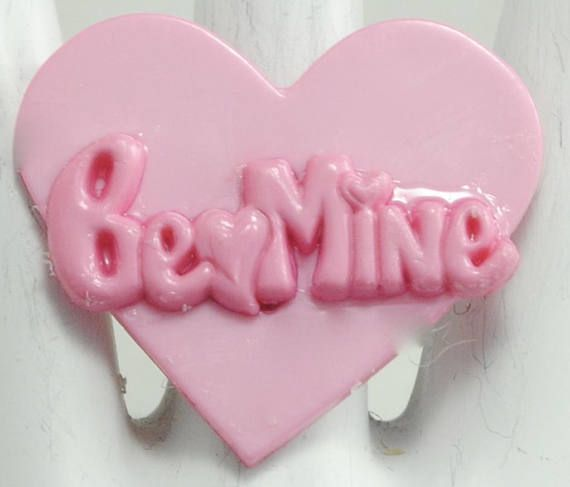 Pink Valentine Ring/Be Mine/Valentine's Day Ring/Gift For