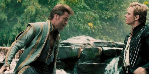 "Chris Pine ""agony"" scene #IntotheWoods #IntoTheWoodsEvent"