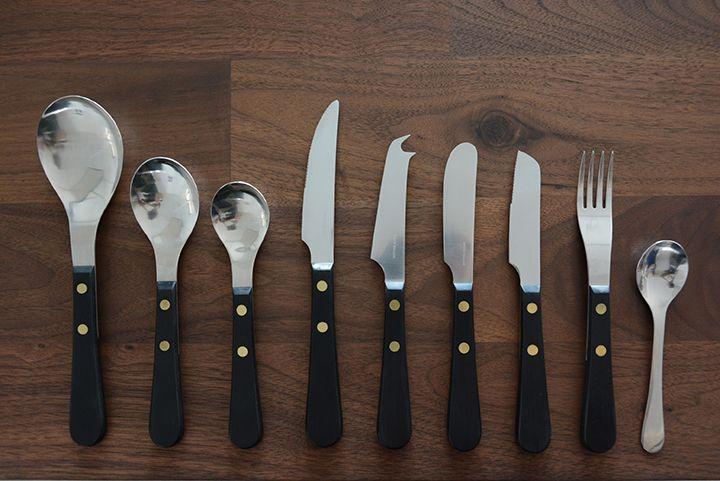 David Mellor / デビッド・メラー / Provencal Black / デザートナイフ