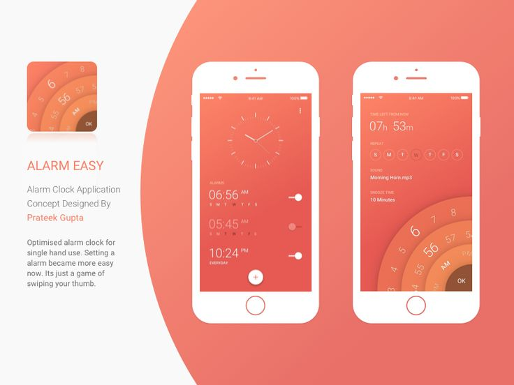 Reminder / Alarm — Design Inspiration