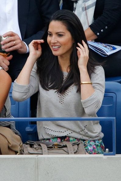 Olivia Munn Photos - Olivia Munn attends the Moet & Chandon Suite at the 2014 US Open Men's Final at USTA Billie Jean King National Tennis Center on September 8, 2014 in New York City. - The Moet & Chandon Suite At The 2014 US Open - Men's Final