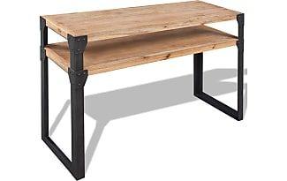 vidaxl Console tafel 120x40x85 cm massief acaciahout