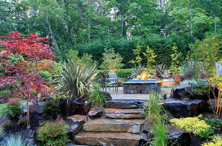Bellevue Wa Natural Stone Landscaping