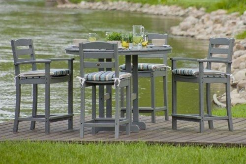 Love The Color Of The La Casa Cafe 5 Piece Bar Height Patio Set