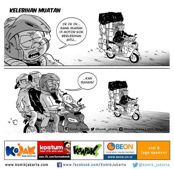 Kelebihan Muatan by @haryadhi @KomikJakarta