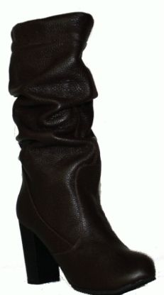 Сапоги ODRI  на каблуке