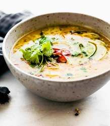 Thai Style Soup with Bone Broth