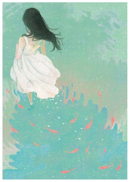 personal work,digital painting, photoshop  illustration bygobugi