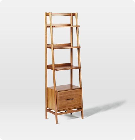 25 best ideas about mid century bookshelf on pinterest for Bookshelf chair plans
