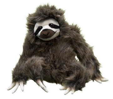 World Wildlife Fund | Three-toed Sloth Plush – Animal Adoptions from World Wildlife Fund - WWF Gift Center