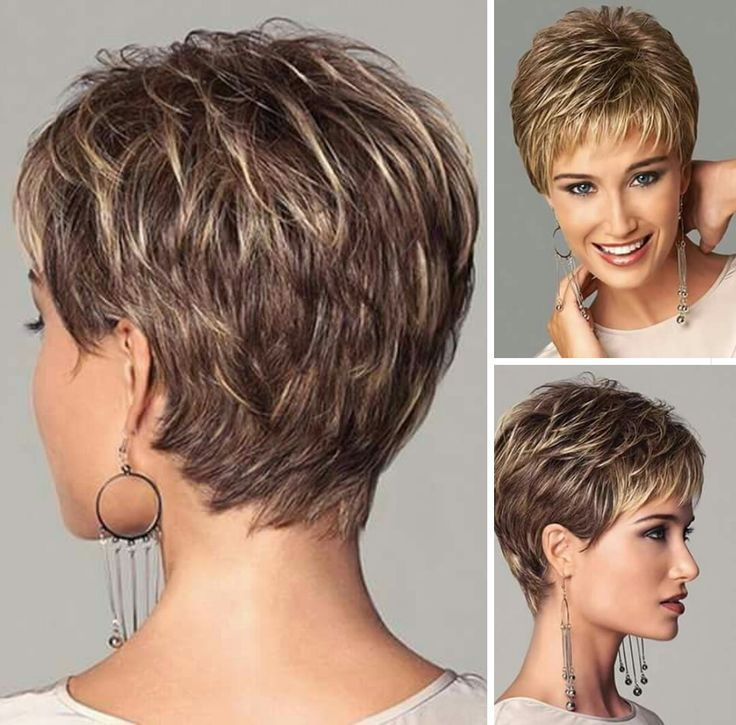 05910d3b0ad28283737369e5bc8967c4 Jpg 736 725 Short Hair With Layers Short Hair Styles For Round Faces Very Short Hair