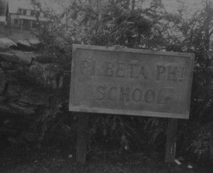 Pi Beta Phi's Settlement School in Gatlinburg, Tennessee, was authorized by the 1910 Swarthmore Convention. See http://wp.me/p20I1i-o8.
