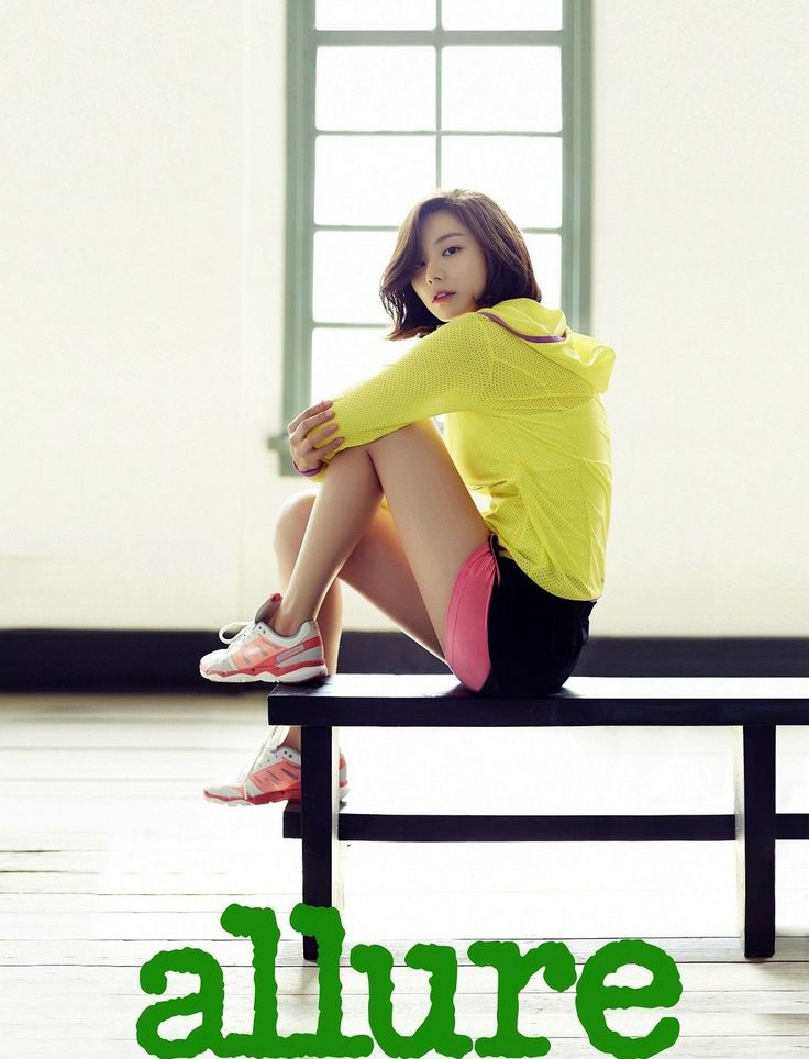 Park Soo Jin - Allure Magazine May Issue '14