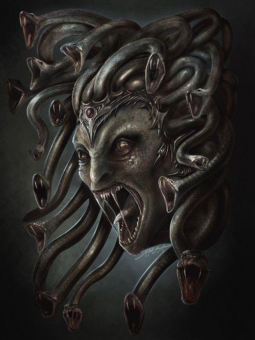 1000 images about medusa on pinterest snakes santiago and the lightning thief. Black Bedroom Furniture Sets. Home Design Ideas