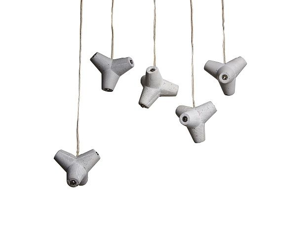 MARINE LED concrete lamp design Urbi et Orbi 2014