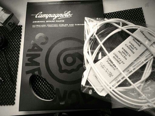 Beautiful Campagnolo packaging