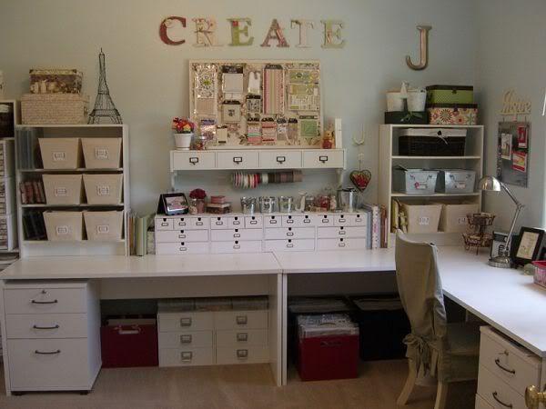 Inspiration for decoration: craft room