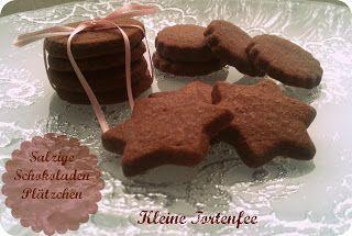 ♥ Die kleine Fee der Torten: Schokoladenplätzchen mal anders
