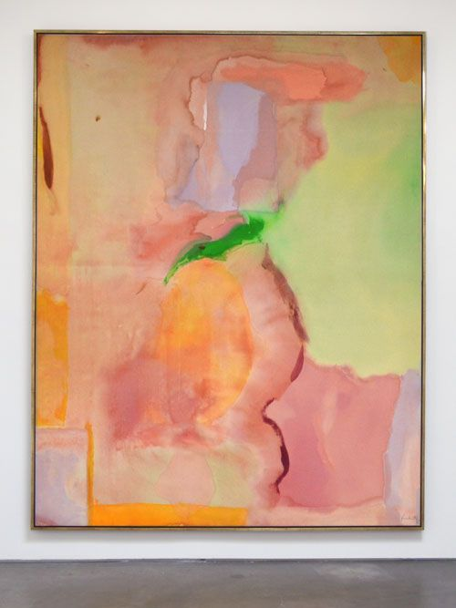 Helen Frankenthaler, Bach's Sacred Theatre, 1973, acrylic on canvas