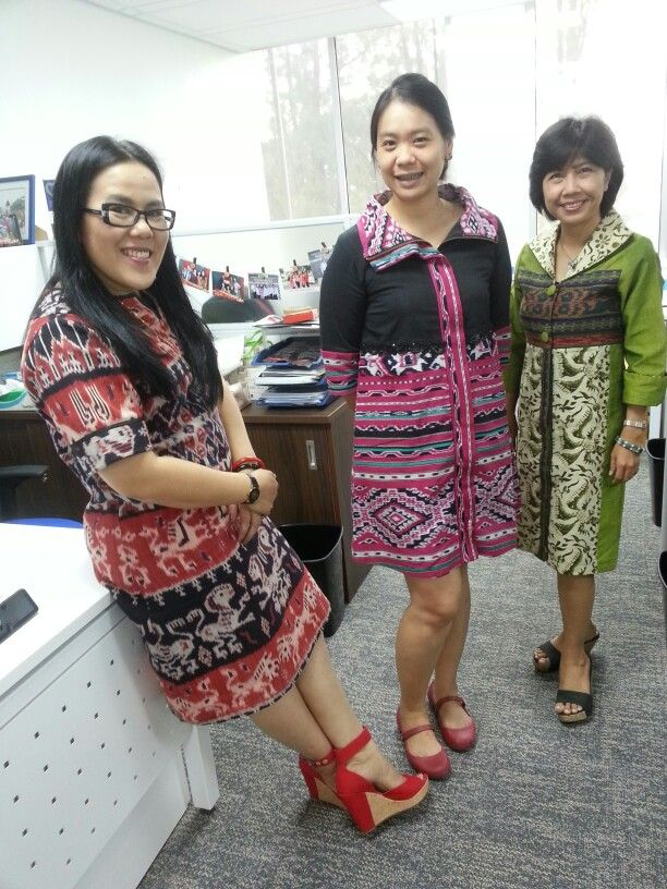 Tenun ikat sumba for office dress code