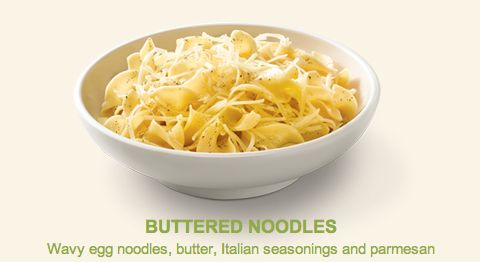 "Noodles & Company's ""Buttered Noodles"""