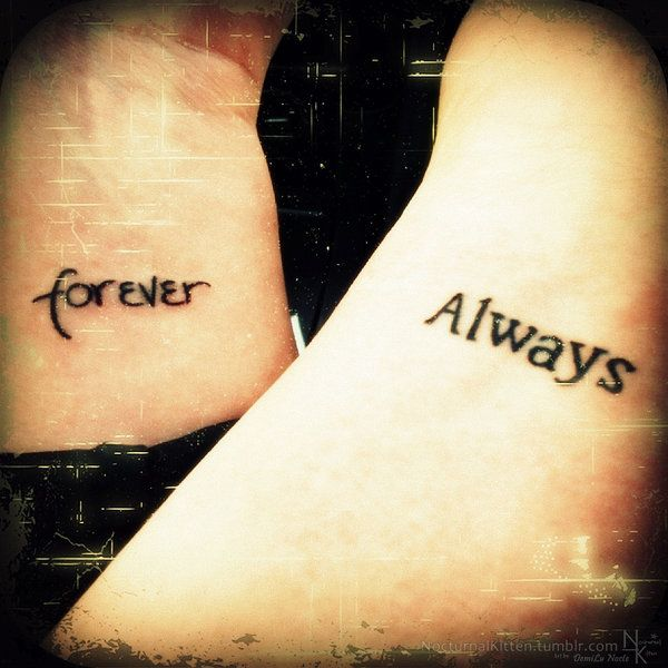 forever and always tattoos by demilu kitten on deviantart tattoo ideas pinterest art. Black Bedroom Furniture Sets. Home Design Ideas