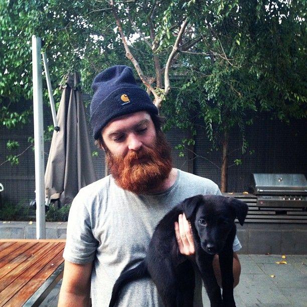 Chet Faker & Henry the dog