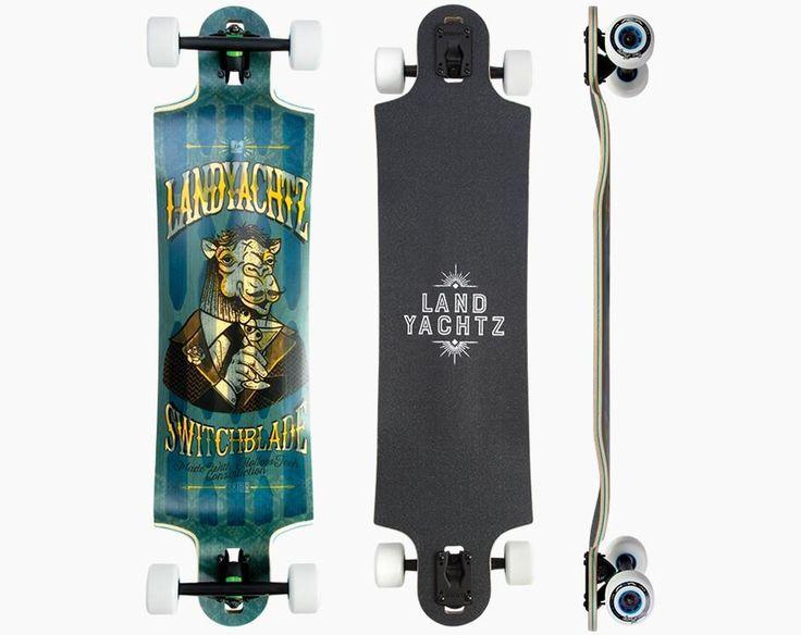 Landyachtz Hollowtech Switchblade 38 Camel Longboard Deck - 2016