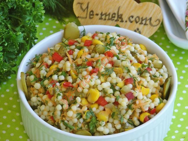 Couscous Salad Recipe | Recipes (From Turkish Cuisine) In English