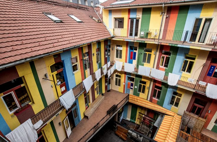 Looking for a hostel in Budapest? Check out these designer hostels.