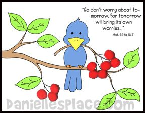 16 best bible verse clip art images on pinterest bible bible verse clip art children glue red pompoms on to the picture to make cherries negle Images
